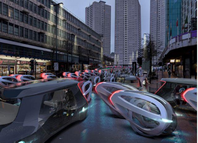 Los coches del futuro